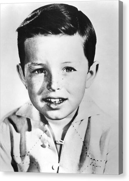 Beavers Canvas Print - Jerry Mathers In Leave It To Beaver  by Silver Screen