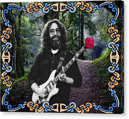 Jerry Road Rose 1 Canvas Print