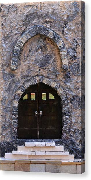 Jerusalem Doorway Canvas Print