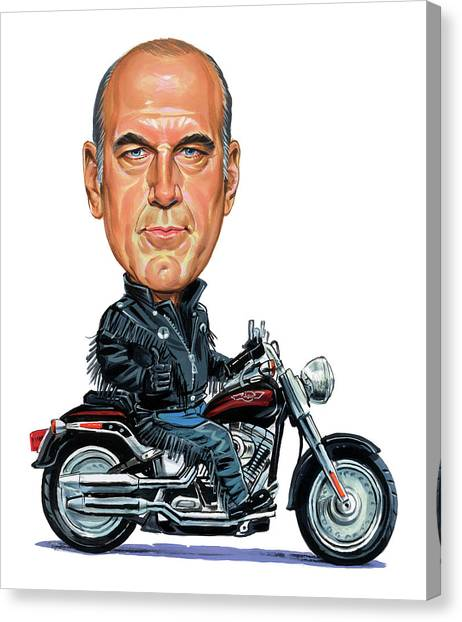 Wwe Canvas Print - Jesse Ventura by Art