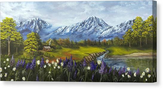 Jessy's View Canvas Print
