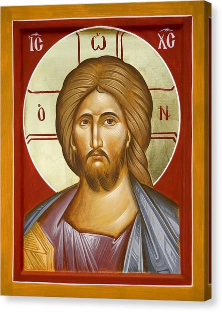 Canvas Print - Jesus Christ by Julia Bridget Hayes