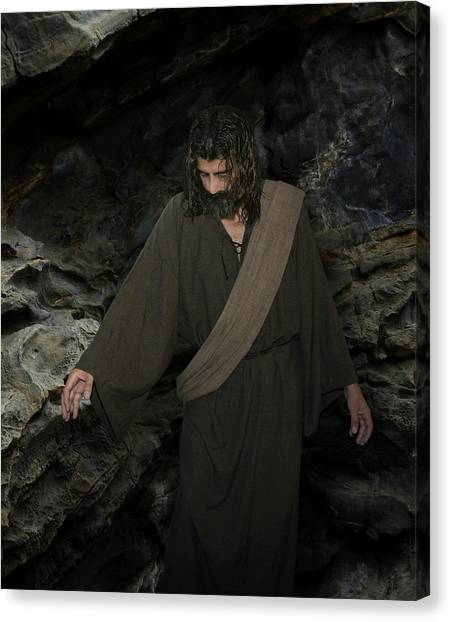Jesus Christ- Lazarus Come Forth Canvas Print