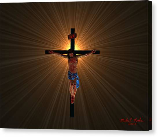 Canvas Print - Jesus Christ by Michael Rucker