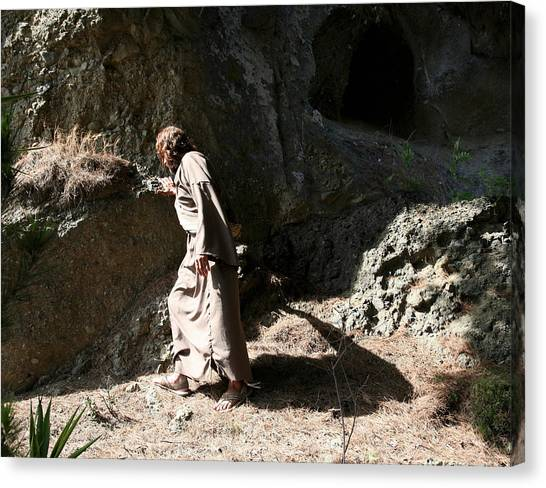 Jesus Christ- Walk In The Light While You Can Canvas Print