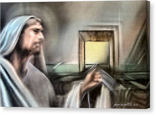 Jesus - Knocking 2013 Canvas Print