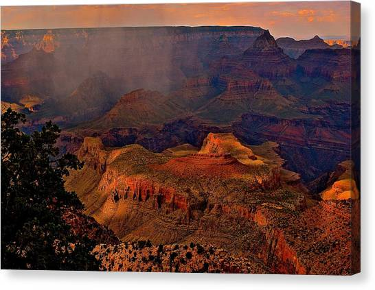 Jewel Of The Grand Canyon Canvas Print