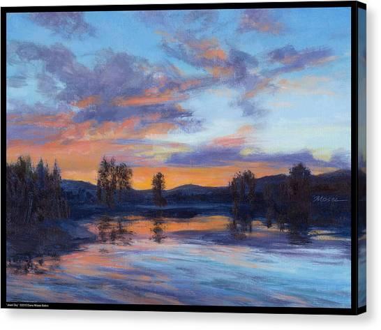Jewel Sky Canvas Print