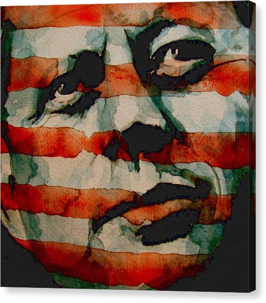 Nose Canvas Print - JFK by Paul Lovering