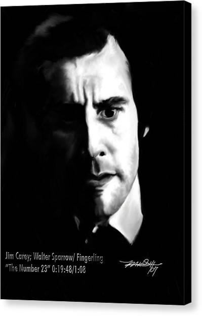 Jim Carrey Canvas Print - Jim Carrey by Mark Gallegos