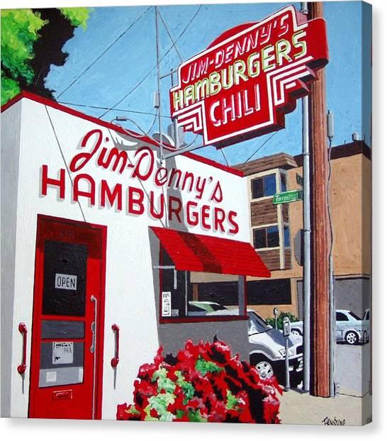 Jim-dennys No. 4 Canvas Print by Paul Guyer