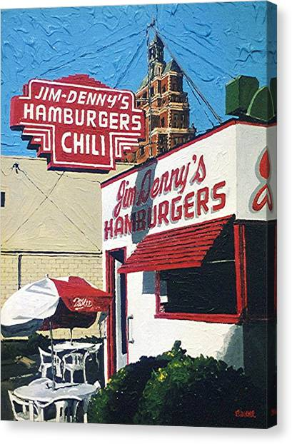 Jim Denny's Canvas Print by Paul Guyer