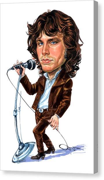 Jim Morrison Canvas Print by Art