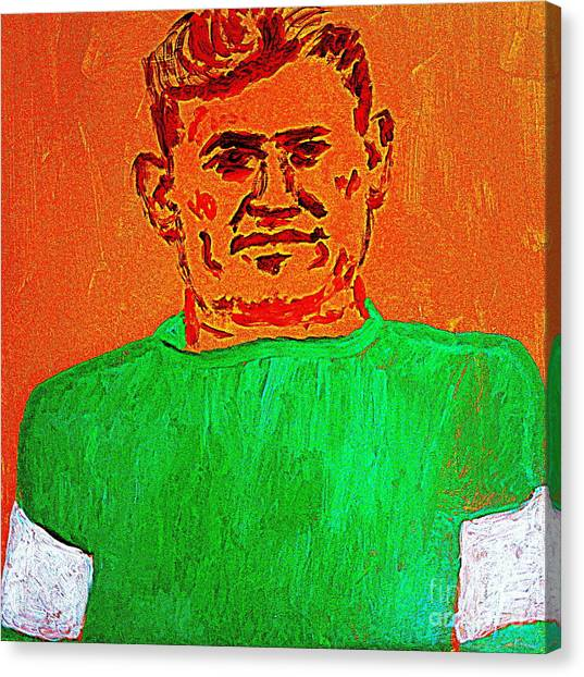 Wayne Gretzky Canvas Print - Jim Thorpe Wa Tho Huk Bright Path by Richard W Linford