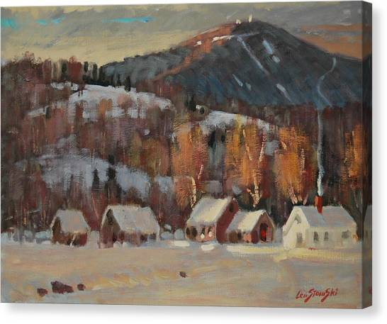Jimmy Alibozek's Place Canvas Print
