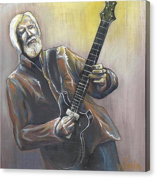 'jimmy Herring' Canvas Print