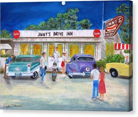 Jimmy's Drive Inn Canvas Print