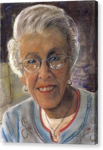 Jim's Mom Lois  Canvas Print