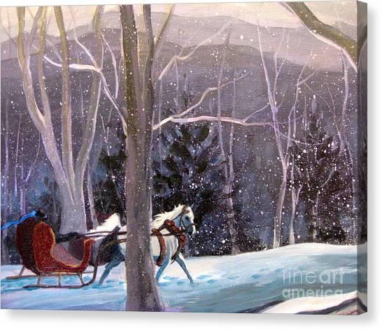 Jingle Bells 3 Canvas Print