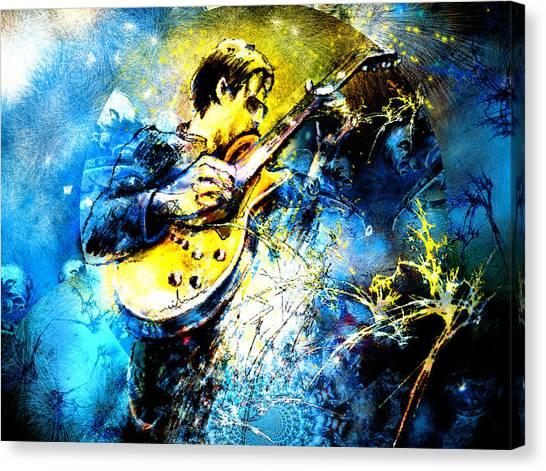 Joe Bonamassa 01 Bis Canvas Print