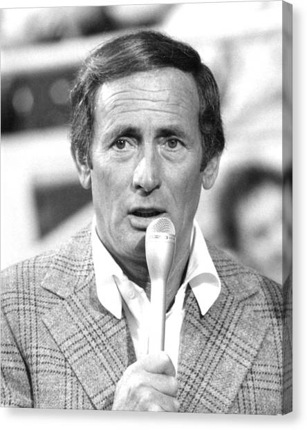 Bishops Canvas Print - Joey Bishop by Silver Screen