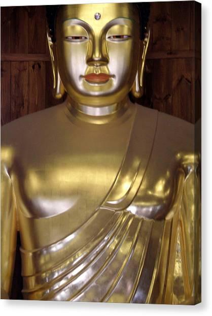 Jogyesa Buddha Canvas Print