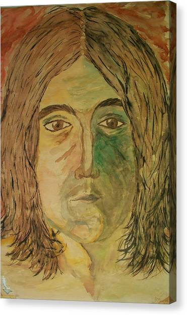 John Canvas Print by Carrie Viscome Skinner