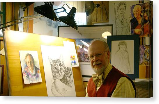 John D Benson Canvas Print