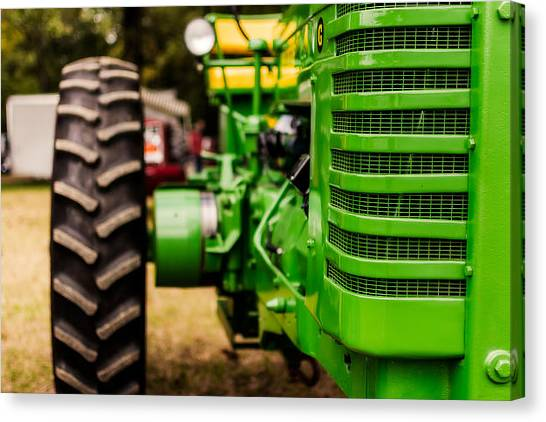John Deere Canvas Print - John Deere Model G by Jon Woodhams