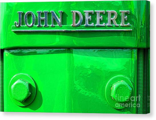 John Deere Canvas Print - John Deere  by Olivier Le Queinec