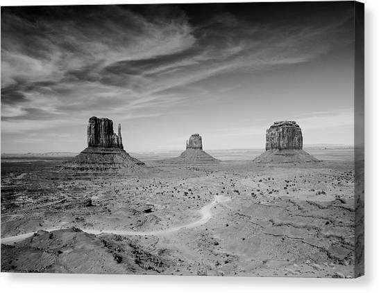 John Ford View Of Monument Valley Canvas Print