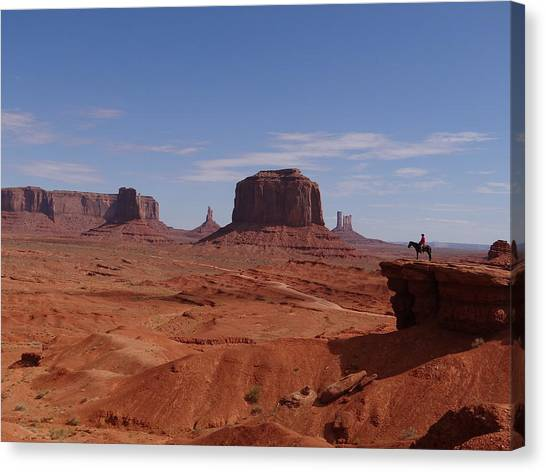 John Ford's Point In Monument Valley Canvas Print