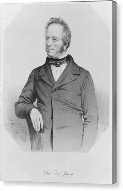 The British Museum Canvas Print - John Gray by Natural History Museum, London/science Photo Library