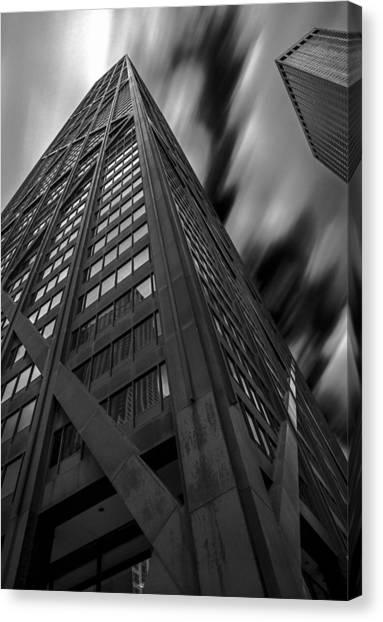 John Hancock Building 73a7300 Canvas Print