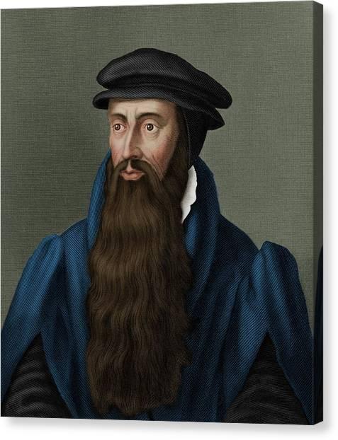 John Knox Canvas Print by Maria Platt-evans