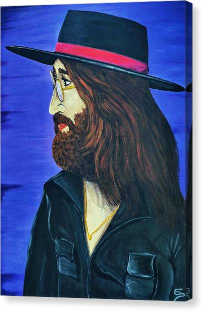 John Lennon  Tittenhurst Park Canvas Print