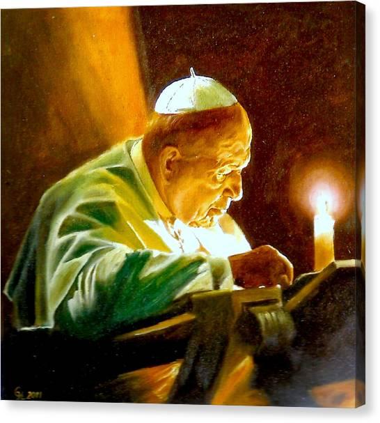 John Paul II Canvas Print