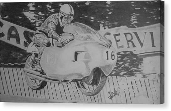 John Surtees Canvas Print by Jose Mendez