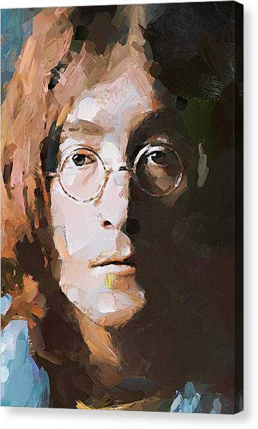 John The Beatles Canvas Print