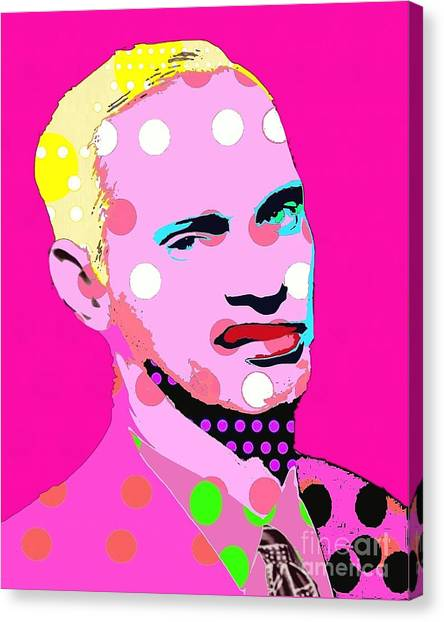 John Waters Canvas Print by Ricky Sencion