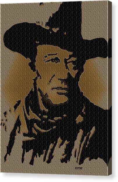 John Wayne Lives Canvas Print