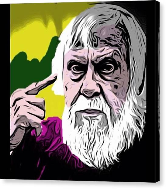Famous Artists Canvas Print - #johnbaldessari #artist #keptit100 by Dig Dug