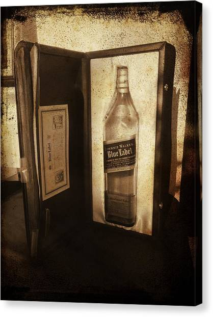 Johnnie Walker - Still Going Strong Canvas Print