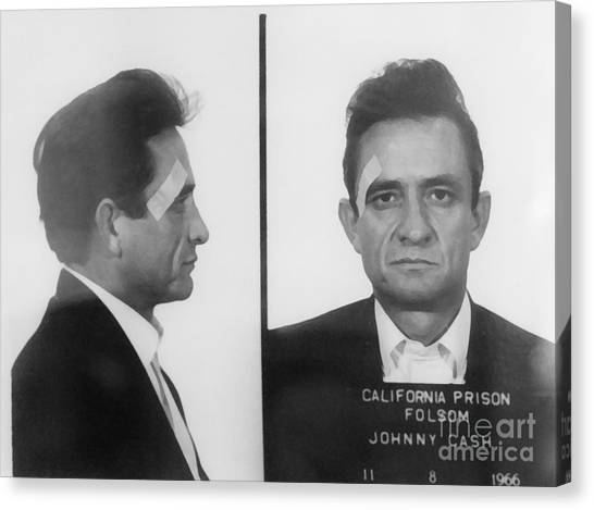 Iphone Case Canvas Print - Johnny Cash Folsom Prison Canvas Print,photographic Print,art Print,framed Print,iphone by David Millenheft