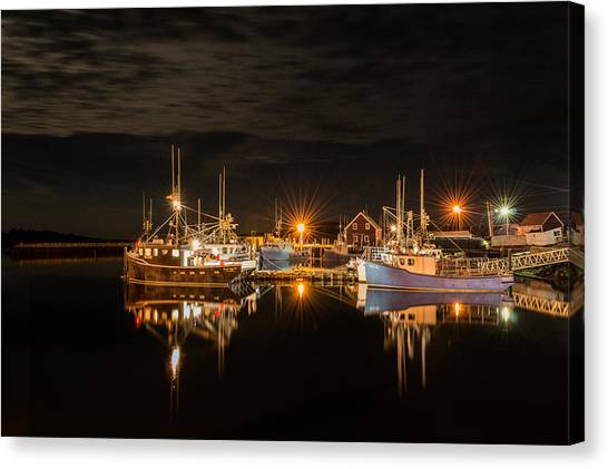 John's Cove Reflections - Revisited Canvas Print
