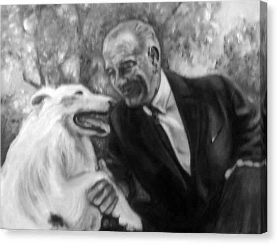 Johnson And Blanco Canvas Print