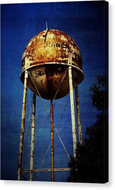 Joiner Water Tower Canvas Print