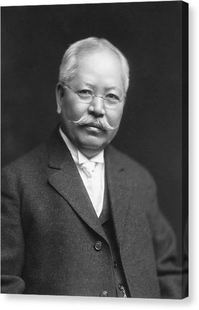 Jokichi Takamine Canvas Print by Chemical Heritage Foundation