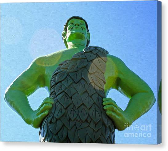 Jolly Green Giant - 02 Canvas Print