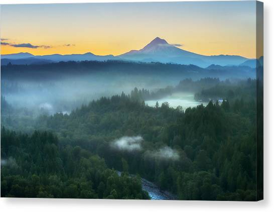 Jonsrud Morning Canvas Print